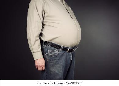 Overweight stomach