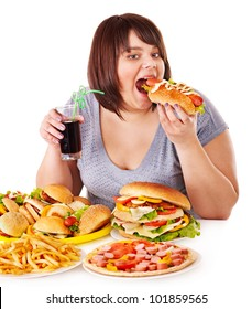 Fat People Eating Images Stock Photos Vectors Shutterstock