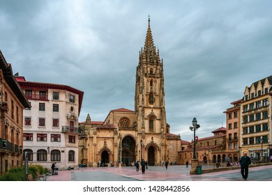 Oviedo Cathedral is a Roman Catholic church in the centre of Oviedo, Asturias, Spain. The origins of Oviedo Cathedral date back to the late 8th century.