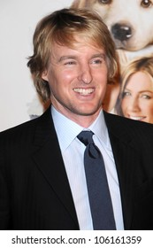 Owen Wilson   at Los Angeles Premiere of 'Marley and Me'. Mann Village Theater, Los Angeles, CA. 12-11-08