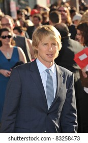 """Owen Wilson at the premiere of """"Cars 2"""" at the El Capitan Theatre, Hollywood. June 18, 2011  Los Angeles, CA Picture: Paul Smith / Featureflash"""