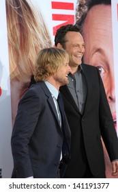"Owen Wilson and Vince Vaughn at ""The Internship"" Los Angeles Premiere , Village Theater, Westwood, CA 05-29-13"