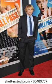 """Owen Wilson at world premiere of """"Hall Pass"""" at the Cinerama Dome, Hollywood. February 23, 2011  Los Angeles, CA Picture: Paul Smith / Featureflash"""
