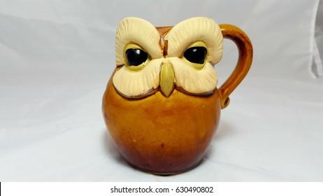 Owl. Candels holder.