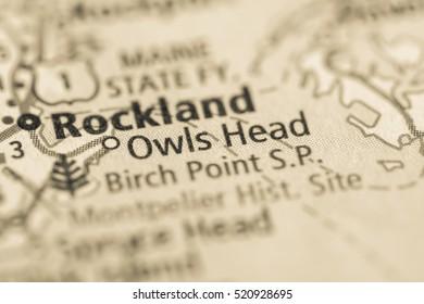 Owls Head. Maine. USA