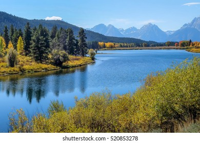 Oxbow Bend Point at Grand Teton National Park