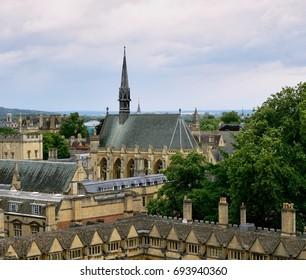 Oxford bird-eye view.