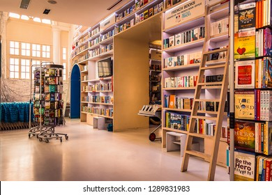Oxford Bookstore in Connaught Place, Delhi , India, 2019