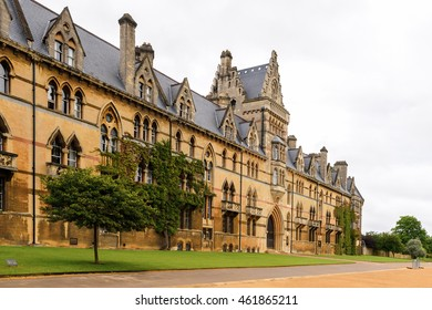 OXFORD, ENGLAND - JULY 10, 2016:  Christ Church college, Oxford, England. Oxford is known as the home of the University of Oxford