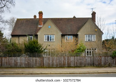 Oxford England UK 02/17/2018: Tolkien's House