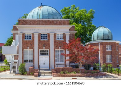 OXFORD, MS/USA - JUNE 7, 2018: Kennon Observatory on the campus of the University of Mississippi.