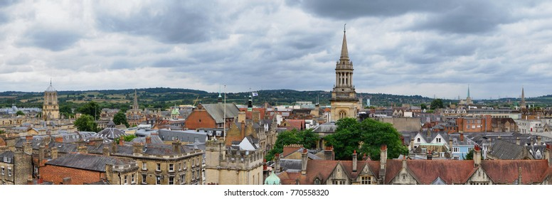 Oxford. Panorama from above