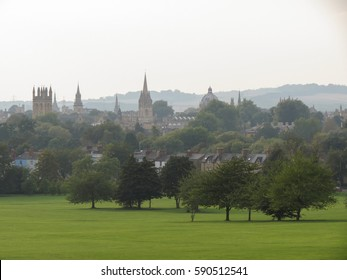 Oxford skyline as seen from South Park