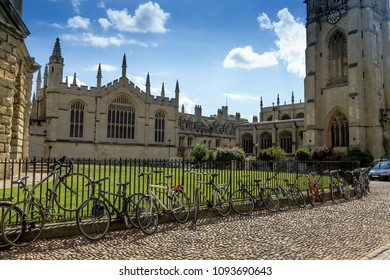 Oxford, UK - June 08, 2015: Bodleian Libraries is the largest university library system in the UK and include one of the oldest libraries in Europe. Oxford