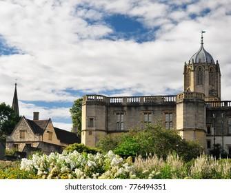 Oxford University, Christ Church gardens
