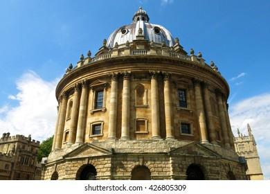 Oxford University Radcliffe Camera Oxford England