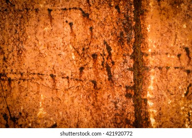 Oxidated metal texture background.