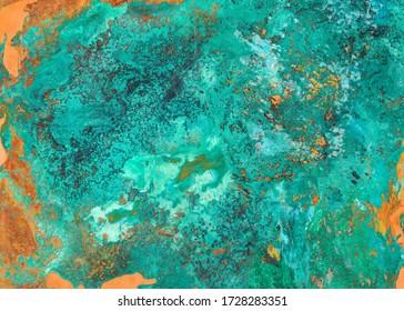 oxide of copper, verdigris texture
