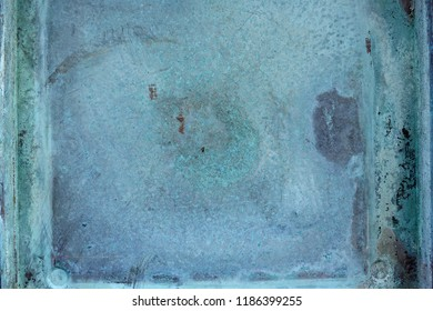 oxidized copper background