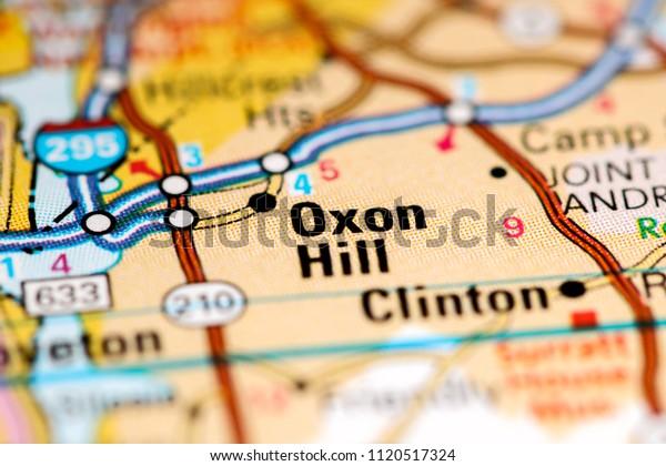 oxon hill maryland map Oxon Hill Maryland Usa On Map Stock Photo Edit Now 1120517324 oxon hill maryland map