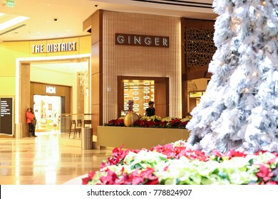 Oxon Hill, MD - December 11, 2017: The Ginger store at MGM at National Harbor.