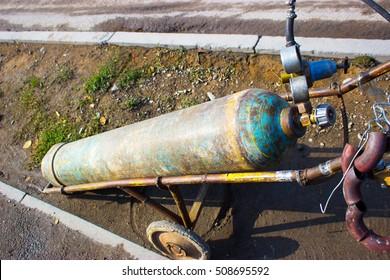 oxygen barrel