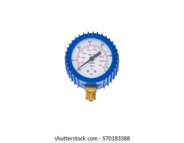 An oxygen manometer isolated on a white background