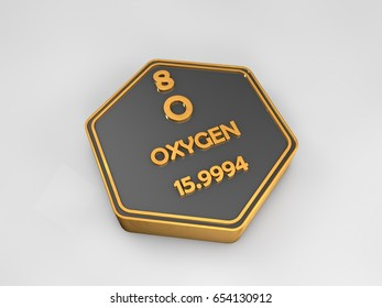 Caesium chemical element periodic table symbol stock illustration oxygen o chemical element periodic table hexagonal shape 3d illustration urtaz Gallery