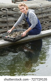 oyster breeder posing