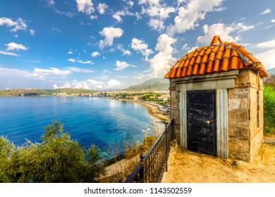 Ozdere Beach view in Izmir Province of Turkey
