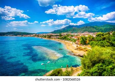 Ozdere Town in Turkey