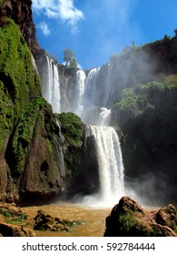 Ozoud cascad, waterfall,  morocco,Africa
