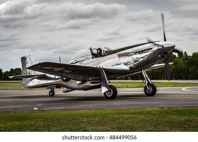P-51 Mustang at the 2015 Leesburg Virginia Air Show