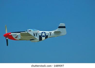 P-51 Mustang takes flight