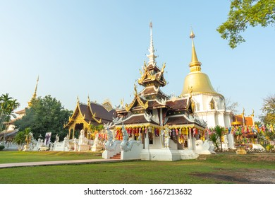 Pa Dara Phirom Temple is located at 514 Rim Tai Subdistrict, Mae Rim District, Chiang Mai Province. A beautiful ancient temple built, old and valuable, calming, natural looking, cool, Thailand