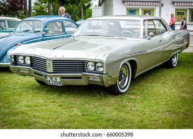 "PAAREN IM GLIEN, GERMANY - JUNE 03, 2017: Full-size luxury car Buick Electra 225, 1968. Exhibition ""Die Oldtimer Show""."