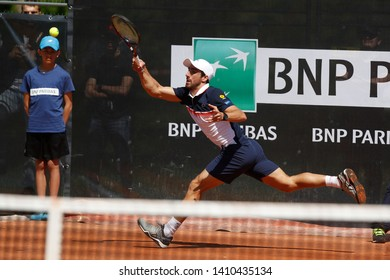 Pablo Cuevas (URU) during the Open Parc Auvergne-Rhone-Alpes Lyon 2019, ATP 250 Tennis tournament on May 22, 2019 at Parc de la Tete d'Or in Lyon, France