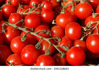 Pachino tomatoes are a specialty of sicilian food in Italy