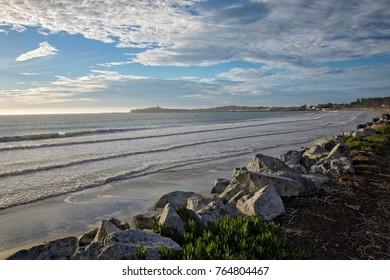 Pacific coast. Half Moon Bay. California.