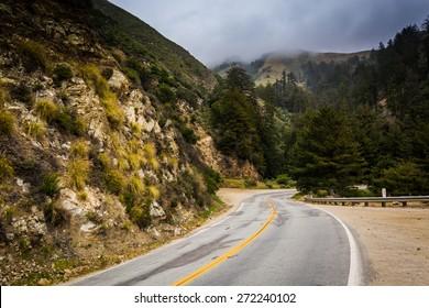 Pacific Coast Highway, in Big Sur, California.