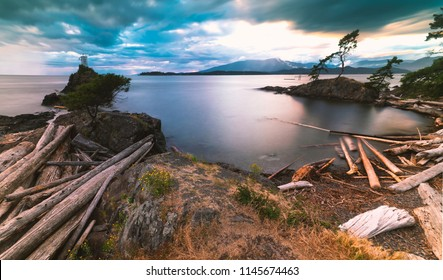 Pacific North West Islands on Bowen Island Howe Sound and the Salish Sea Vancouver Scenics and Landscapes