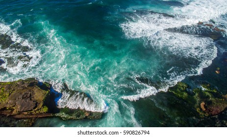 Pacific Ocean from Above