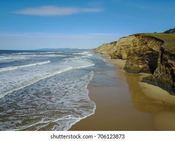 Pacific Ocean Coastline, Half Moon Bay, California