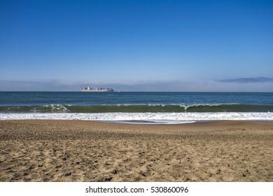 Pacific Ocean, San Francisco, California, USA