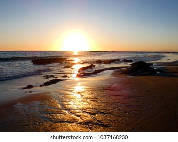 Pacific Ocean Sunset on the Coast