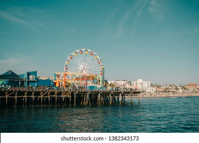 Pacific park in Santa Monica California April 13, 2019