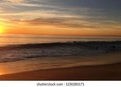 Pacific sunset Laguna beach