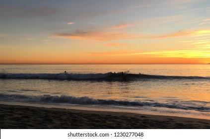 Pacific  Sunset Light