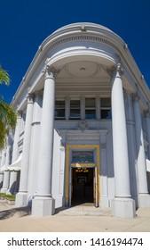 The Pacific Western Bank on Orange Avenue, Coronado, San Diego County, California, USA. September 9th 2016