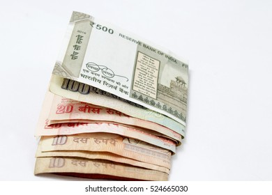 Pack of  indian currency